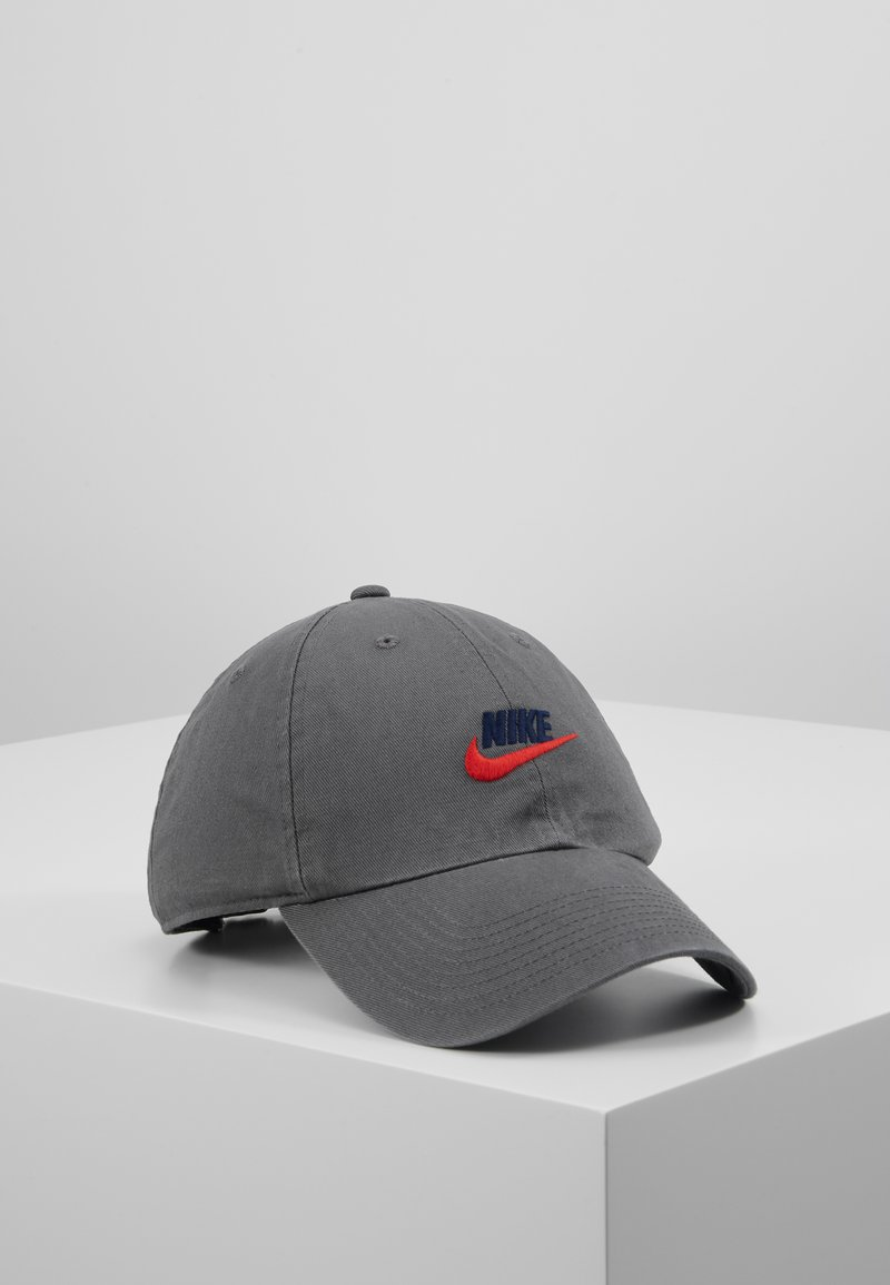Nike Sportswear - FUTURA WASHED - Cap - iron grey