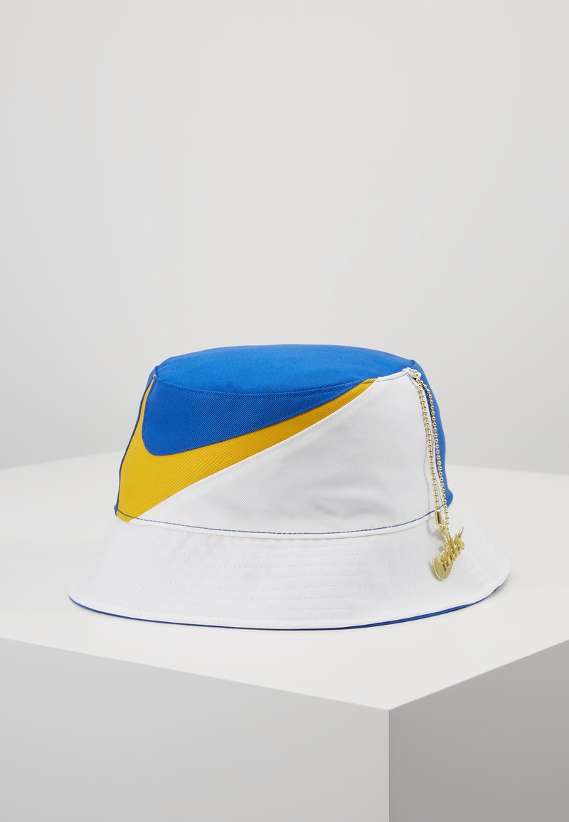 Nike Sportswear - BUCKET CAP - Hattu - white/game royal/dark sulfur