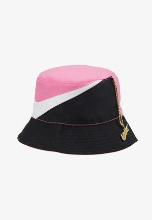 BUCKET CAP - Kapelusz - china rose/white/black
