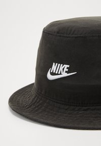 Nike Sportswear - BUCKET WASHED - Hat - black