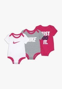 Nike Sportswear - BABY 3 PACK - Body - rush pink - 0