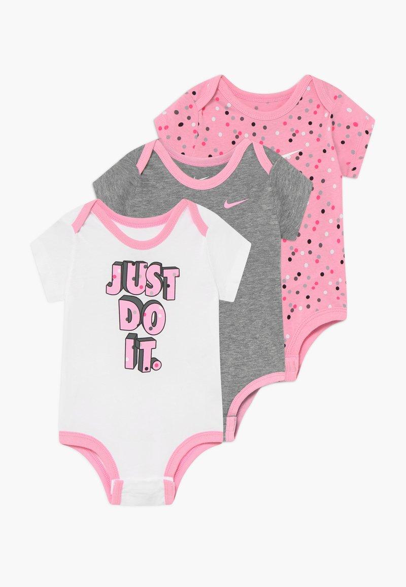 Nike Sportswear - DOT BABY 3 PACK - Body - pink
