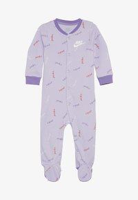 Nike Sportswear - FOOTED COVERALL BABY - Piżama - lavender mist - 2