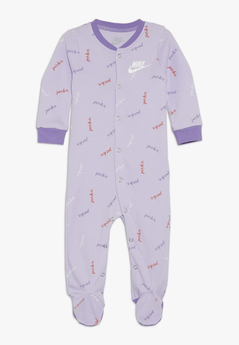 Nike Sportswear - FOOTED COVERALL BABY - Pijama - lavender mist