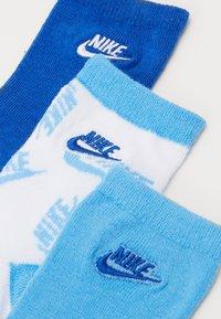Nike Sportswear - FUTURA TOSS CREW 3 PACK - Calcetines - university blue - 1