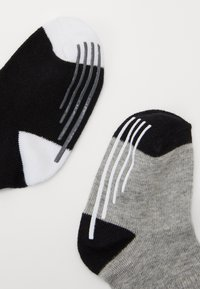 Nike Sportswear - TRACK GRIPPER 3 PACK - Sokken - dark grey heather - 1