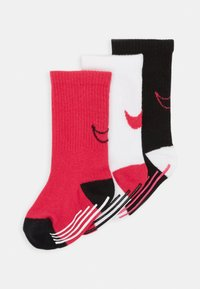 Nike Sportswear - TRACK GRIPPER 3 PACK - Calcetines - rush pink - 0