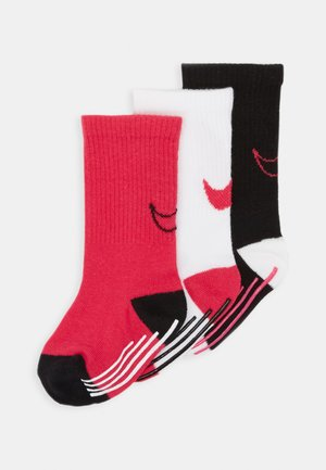 TRACK GRIPPER 3 PACK - Chaussettes - rush pink