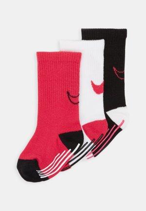 TRACK GRIPPER 3 PACK - Ponožky - rush pink