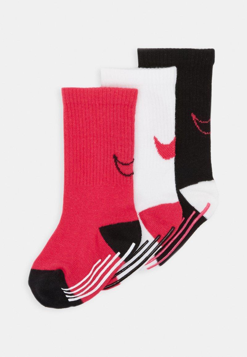 Nike Sportswear - TRACK GRIPPER 3 PACK - Calcetines - rush pink