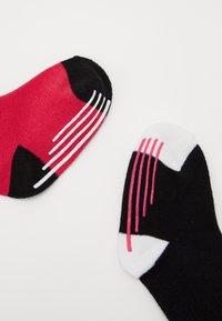 Nike Sportswear - TRACK GRIPPER 3 PACK - Calcetines - rush pink - 1