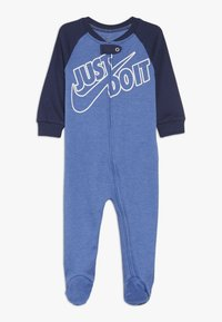 Nike Sportswear - FOOTED COVERALL BABY - Pyjama - mountain blue heather - 0