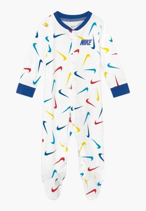 SWOOSHFETTI FOOTED COVERALL BABY - Pyjama - white