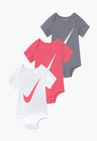 Nike Sportswear - BABY 3 PACK - Geboortegeschenk - pink/white - 0