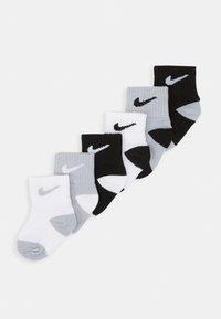 Nike Sportswear - LOGO PACK TODDLER SOCKS 6 PACK - Sokken - black/wolf grey - 0