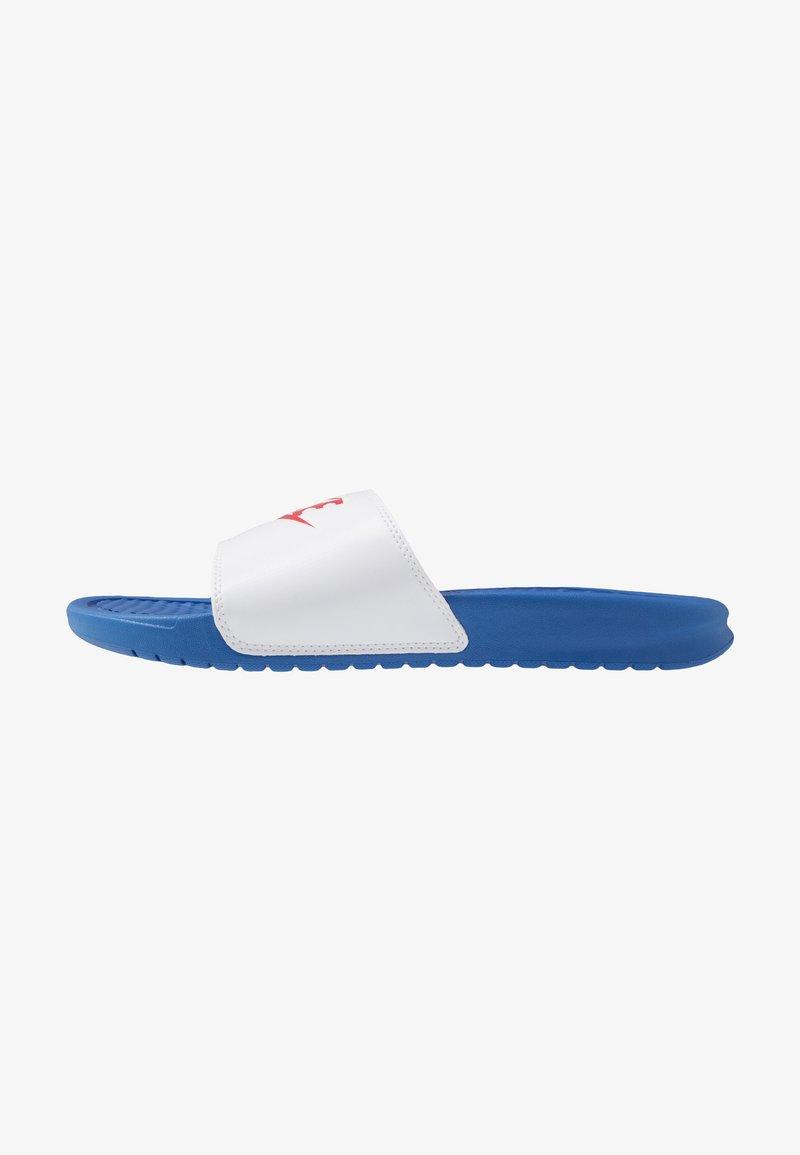 Nike Sportswear - BENASSI JDI - Rantasandaalit - game royal/universe red/white