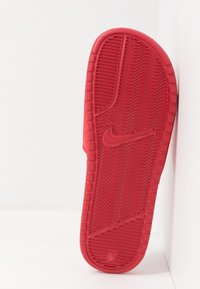 Nike Sportswear - BENASSI JDI - Sandales de bain - university red/metallic gold - 4