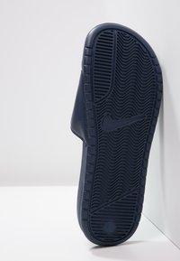 Nike Sportswear - BENASSI JDI - Sandály do bazénu - midnight navy/windchill - 4
