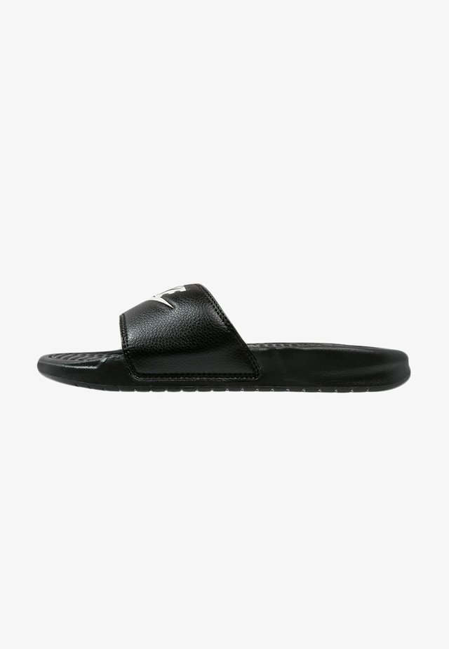 BENASSI JDI - Badslippers - black/white