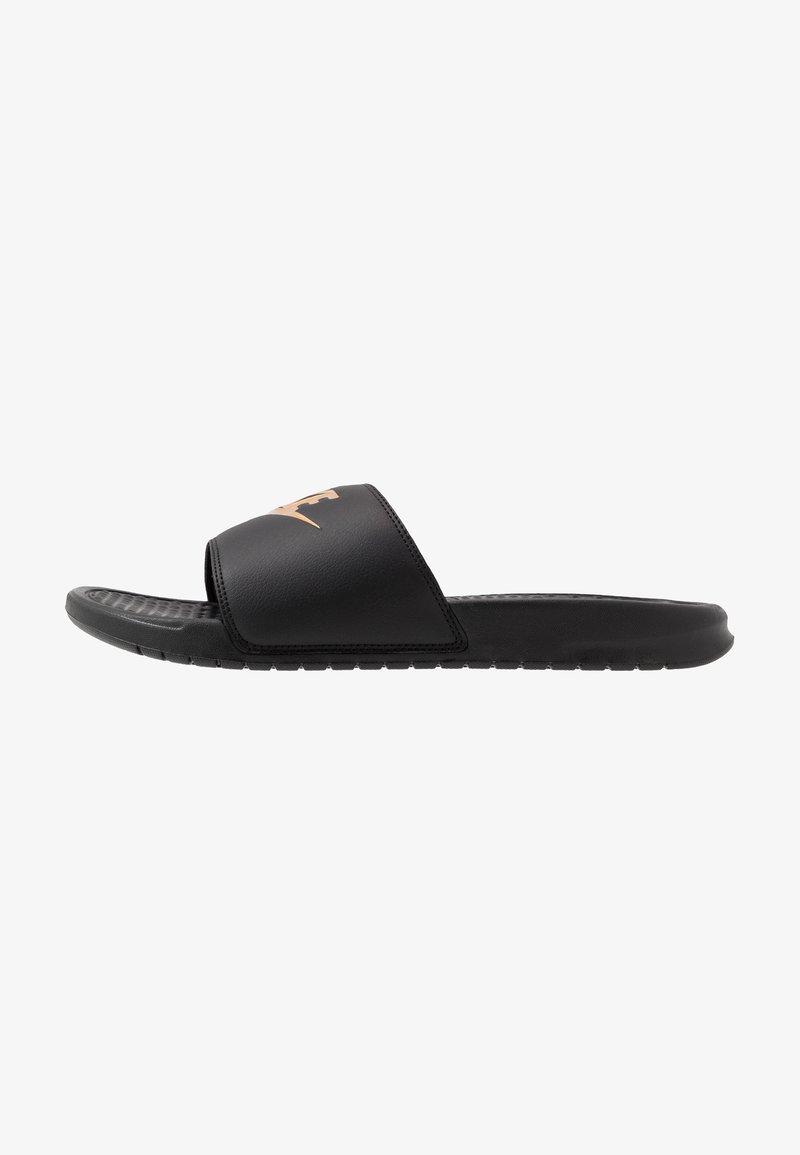 Nike Sportswear - BENASSI JDI - Badesandale - black/metallic gold