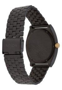 Nixon - TIME TELLER - Horloge - matte black/gold-coloured - 4