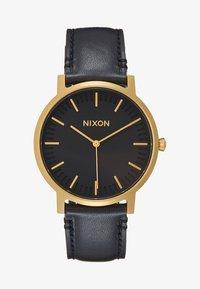 gold-coloured/black