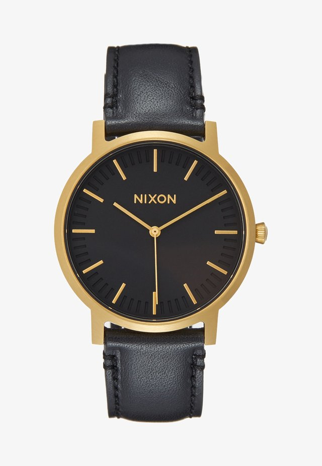 PORTER - Uhr - gold-coloured/black