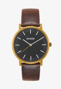Nixon - PORTER - Montre - black/brown - 2