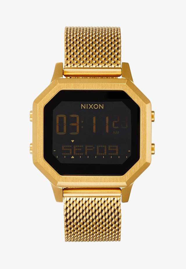 SIREN LUX - Digitaluhr - all gold-coloured