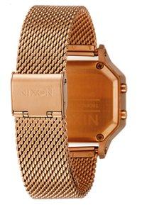 Nixon - SIREN LUX - Orologio digitale - all rose gold-coloured - 3