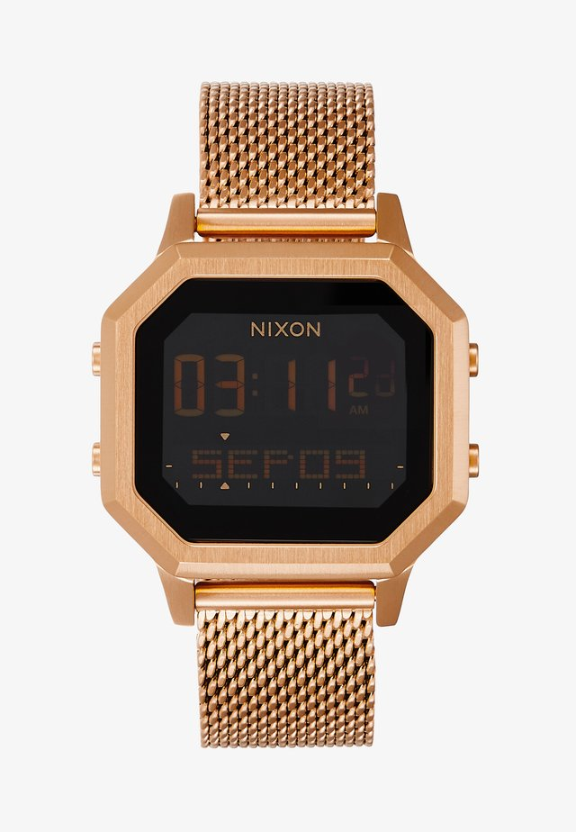 SIREN LUX - Digitaluhr - all rose gold-coloured