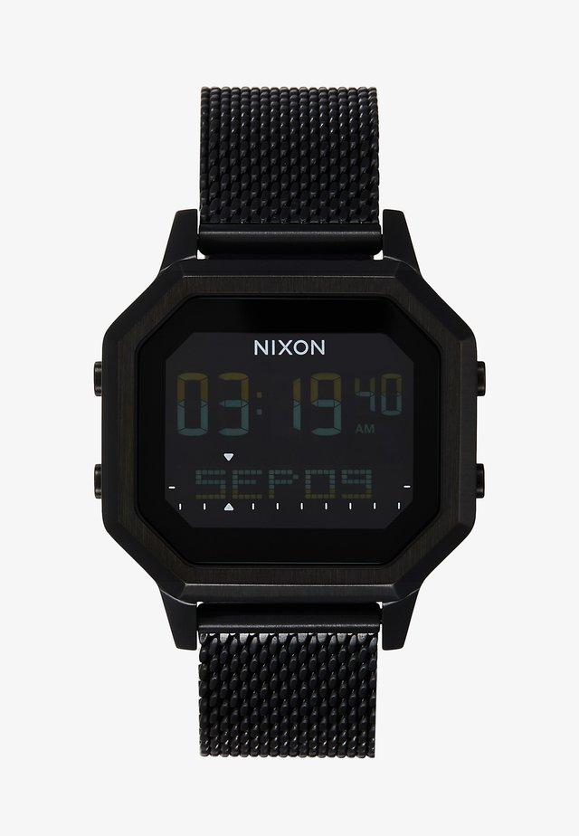 SIREN LUX - Digital watch - all black
