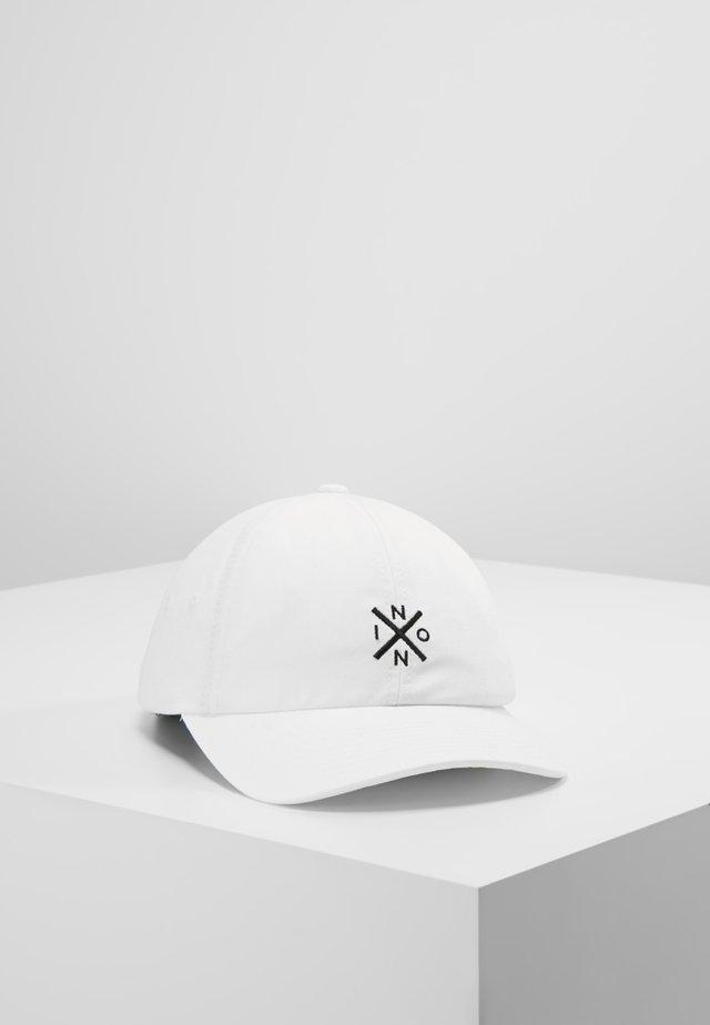 PREP STRAPBACK - Cap - white/black