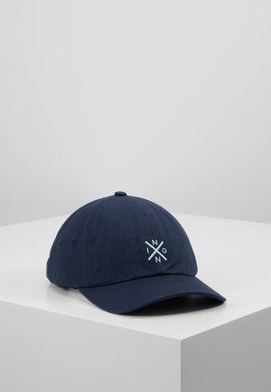 PREP STRAPBACK - Caps - navy/turquoise