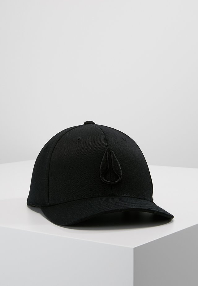 DEEP DOWN ATHLETIC FIT - Caps - all black