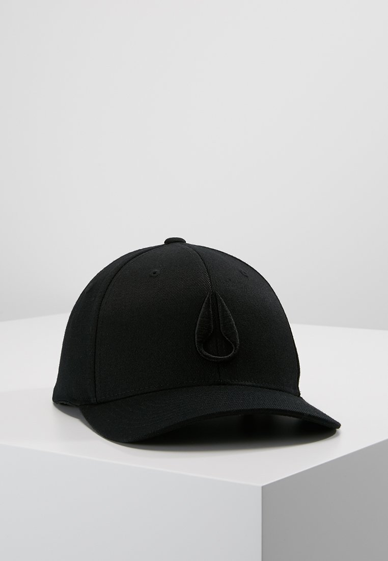 Nixon - DEEP DOWN ATHLETIC FIT - Cappellino - all black