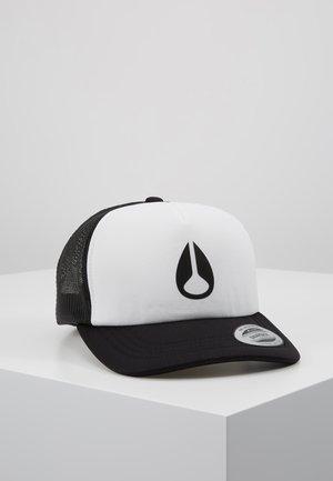 BYRON FOAM TRUCKER HAT - Gorra - white/black