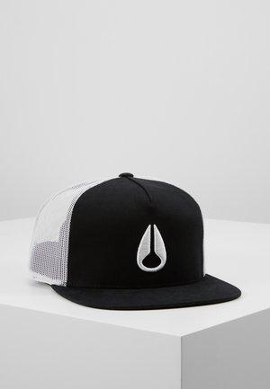 DEEP DOWN TRUCKER HAT - Caps - black/white/black