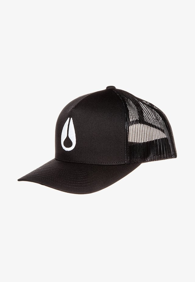 ICONED TRUCKER - Cap - black/white