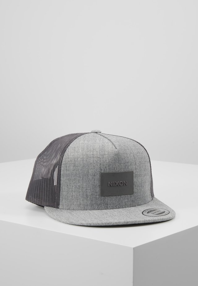 TEAM TRUCKER HAT - Cappellino - heather gray