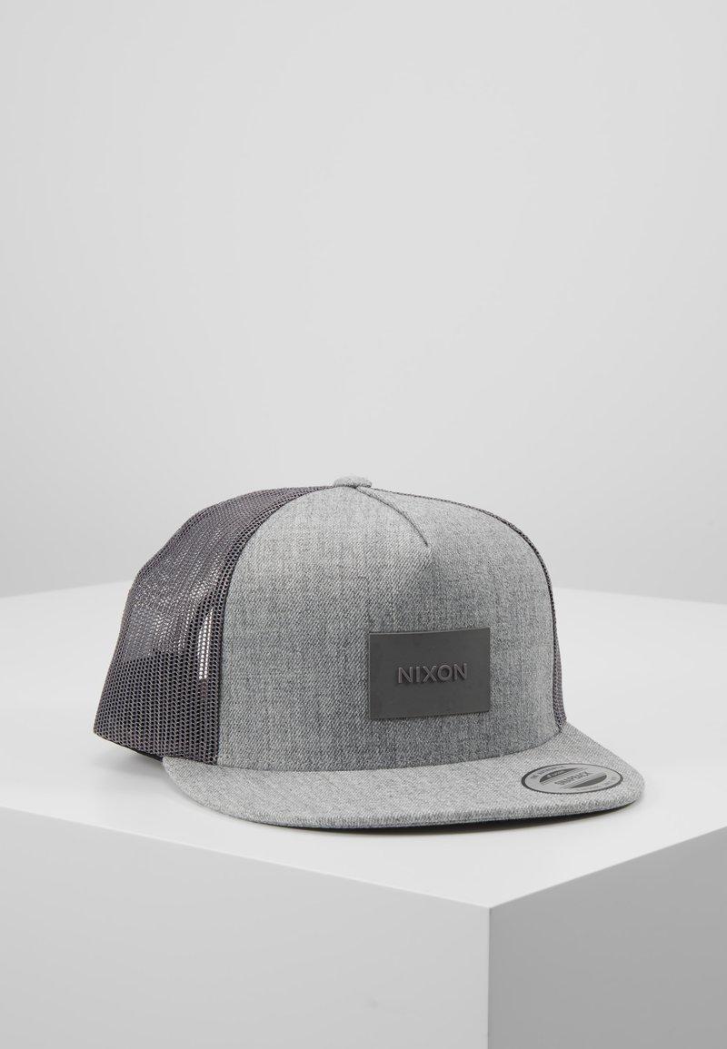Nixon - TEAM TRUCKER HAT - Kšiltovka - heather gray