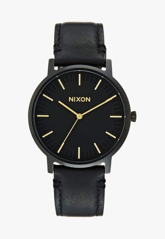 PORTER - Orologio - all black / gold-coloured