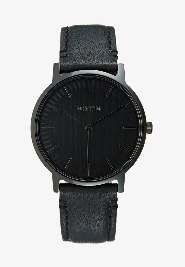 PORTER - Uhr - black