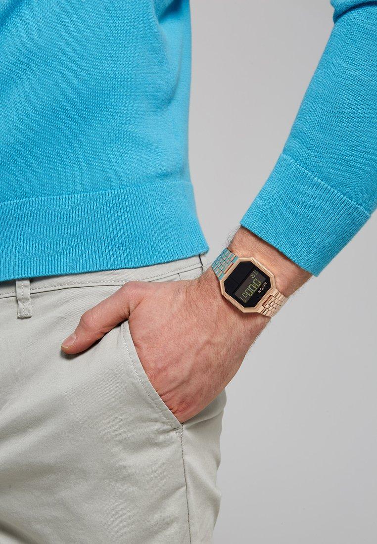 Nixon - RE-RUN - Digitální hodinky - rose gold