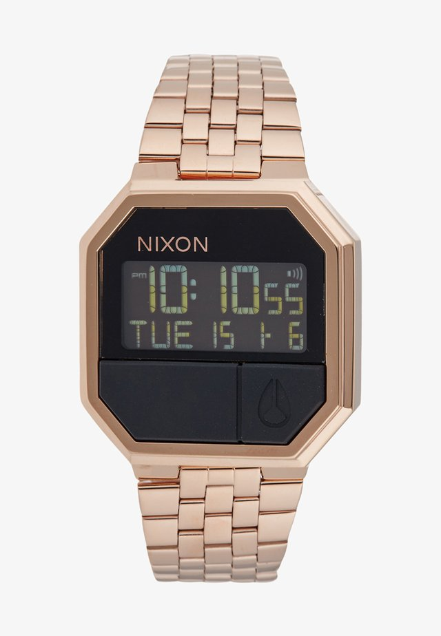 RE-RUN - Digitaluhr - rose gold