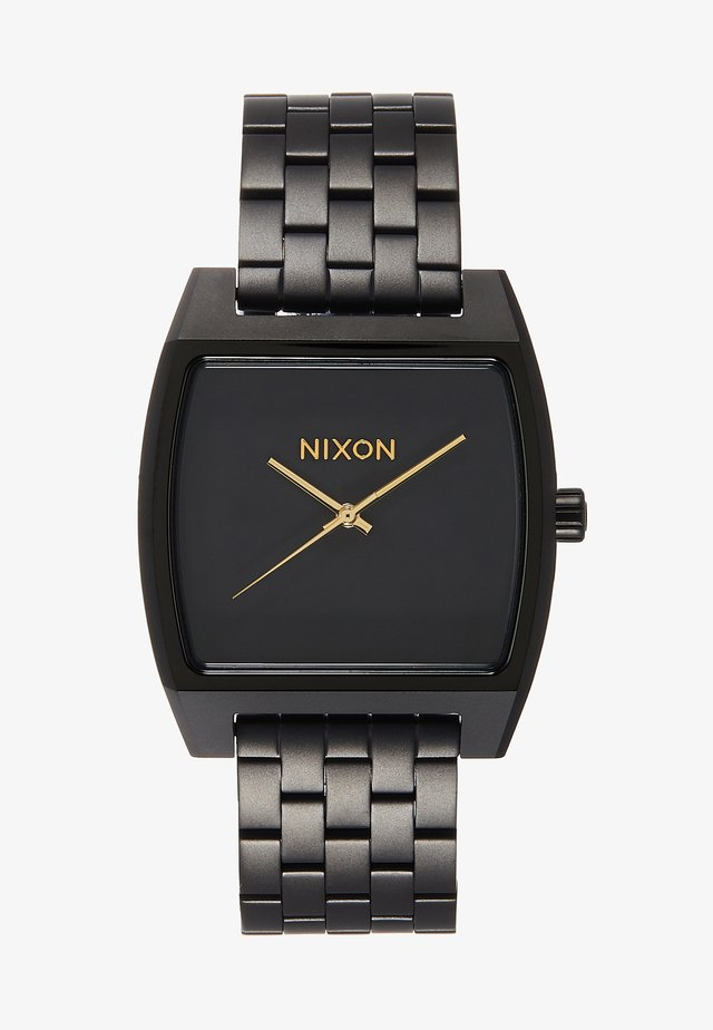 TIME TRACKER - Hodinky - matte black/gold-coloured