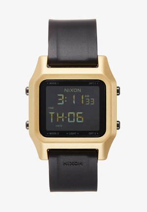 STAPLE - Digitaluhr - black/gold-coloured