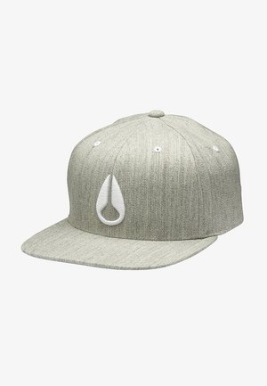 DEEP DOWN ATHLETIC FIT FLEXFIT  - Cap - heather gray/white