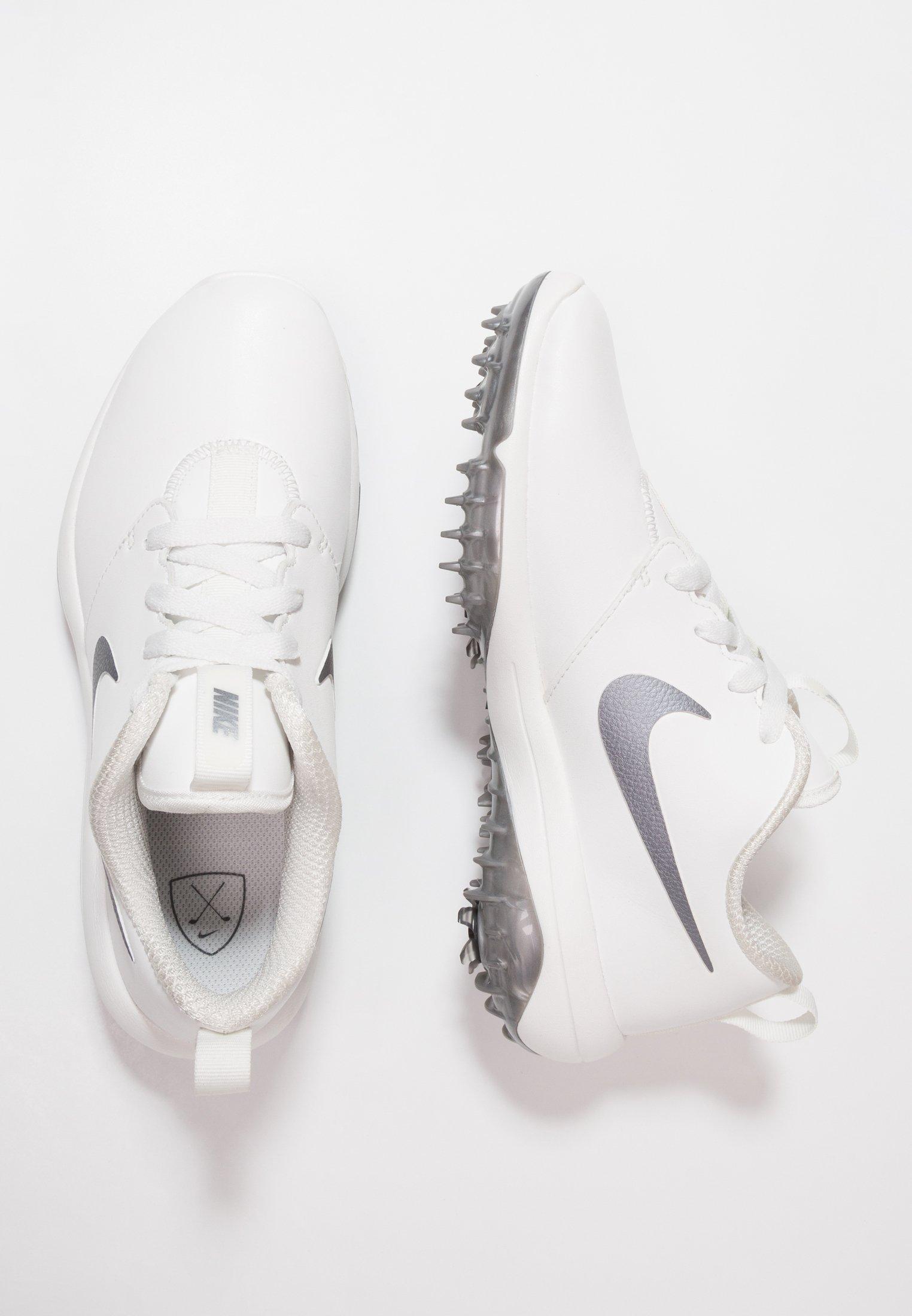 Nike Golf ROSHE G TOUR - Golfsko - summit white/metallic cool grey