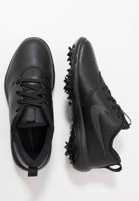 Nike Golf - ROSHE G TOUR - Chaussures de golf - black - 1